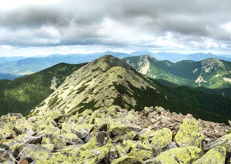 Поход в горы на Довбушанку (горганы)