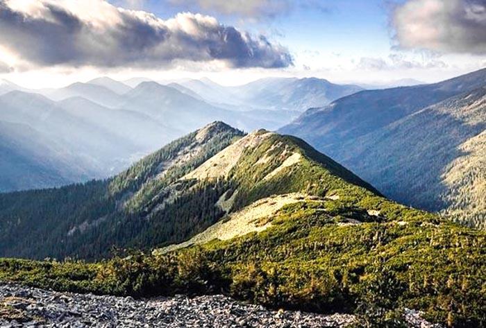 Поход в горы на Хомяк ( горганы )