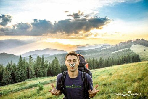 Поход в горы на Поп Иван ( Черногора )