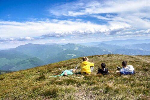 Поход в горы на Свидовец и Горганы