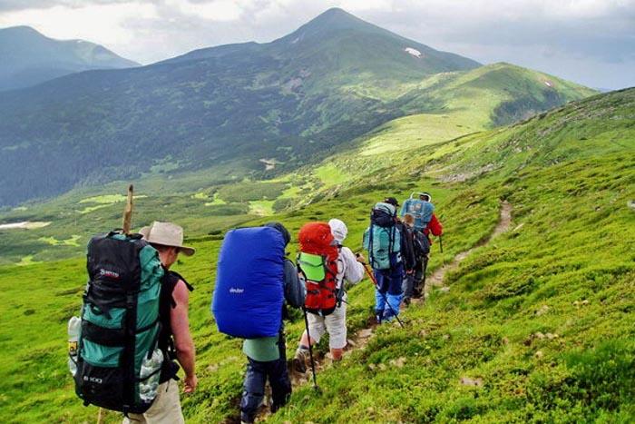 Поход по всему Черногорскому массиву в Карпатах