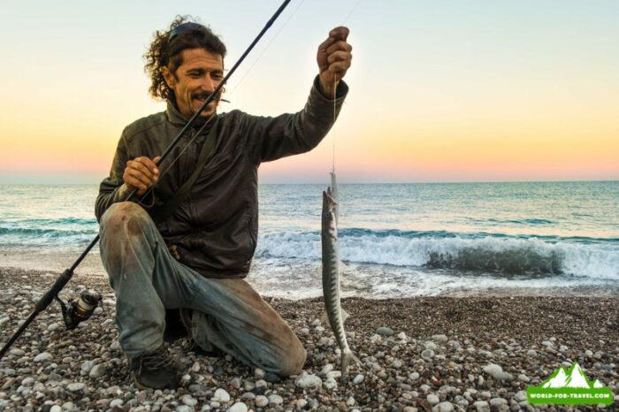 рыбак - середземное море