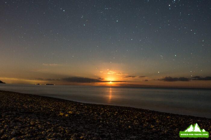середземное море - закат