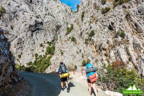 Ликийская тропа (likya yolu) Поход в горы