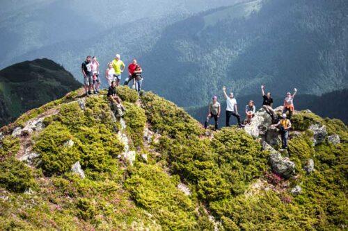 Гуцульские Альпы - Мармарошский массив - гора Поп Иван