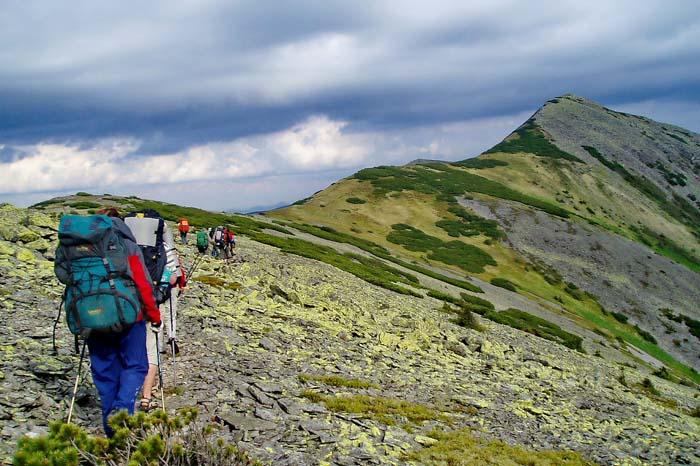 Поход в горы на Игровец и Сивулю (горганы)