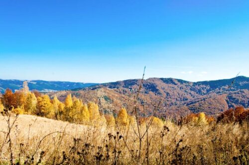 Поход в горы на хребет Яворник