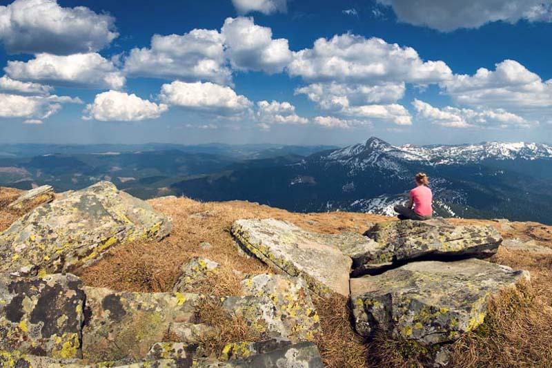 Поход в горы на Говерлу и Петрос (черногора)