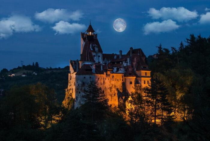 замок Дракулы -Бран