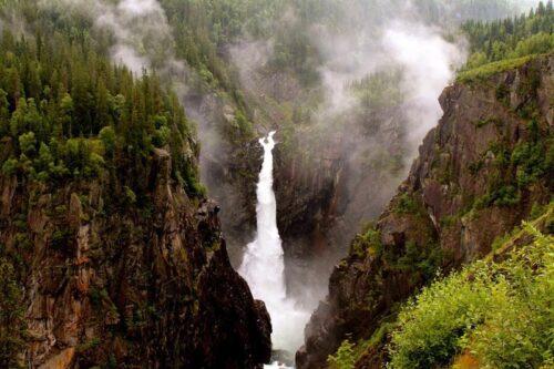 Поход в горы Норвегия