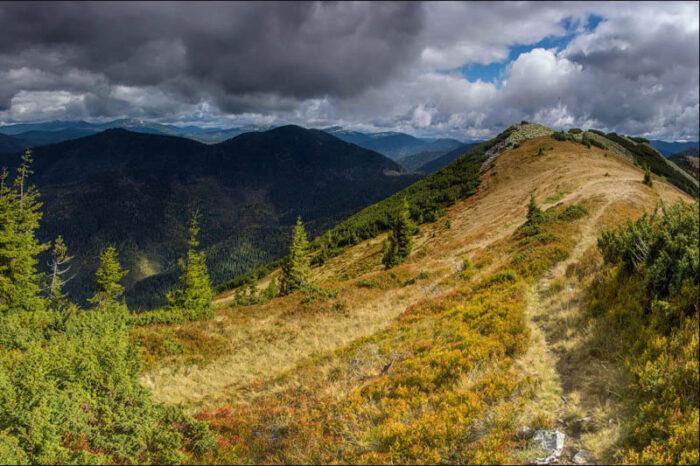 Поход в горы на Горган - Яйко Илемске - Молода