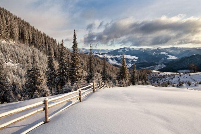 Поход на Черногорский массив- Зимние Карпаты