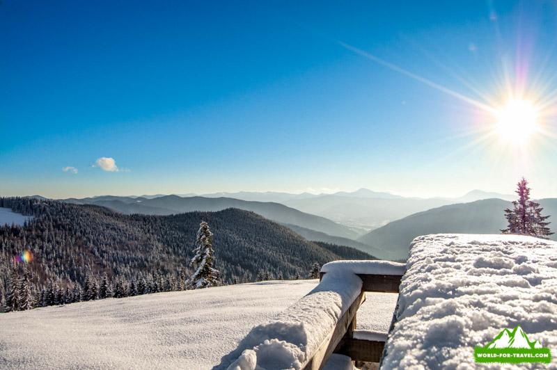Гора Ягодная - поход в горы