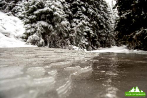 Лисновский массив - зимний поход в горы