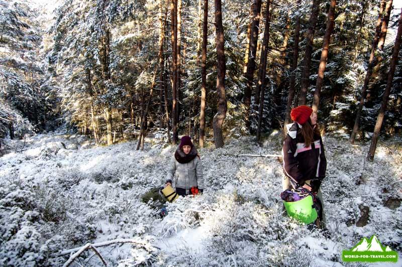 Лисновский массив - поход в горы