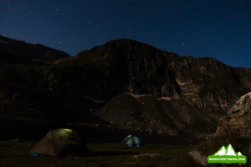 Свет палаток Балкани Болгария