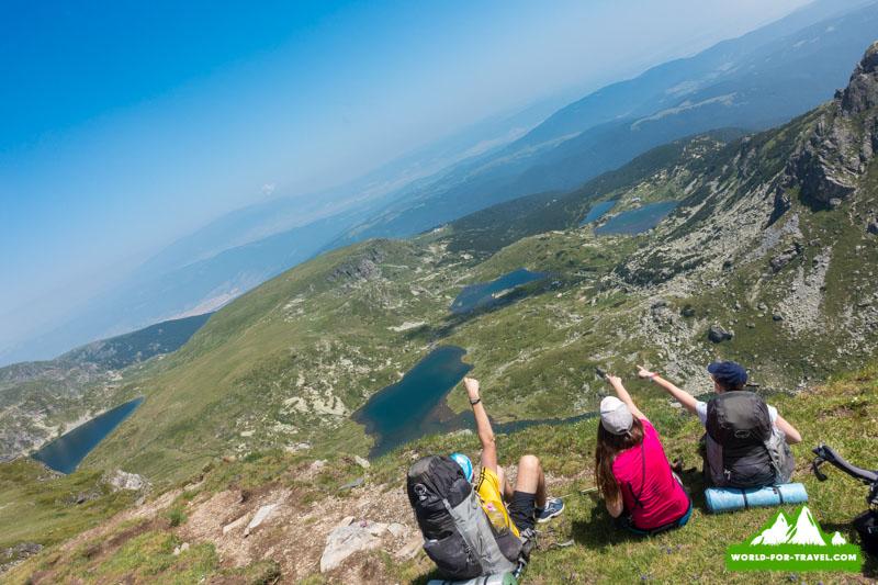 семь Рыльских озер в горах Рила Балкани Болгария