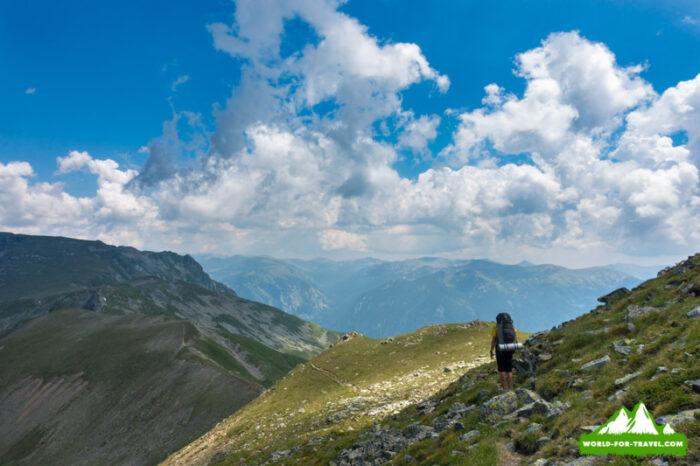 горная тропа Болгария - горы Рила