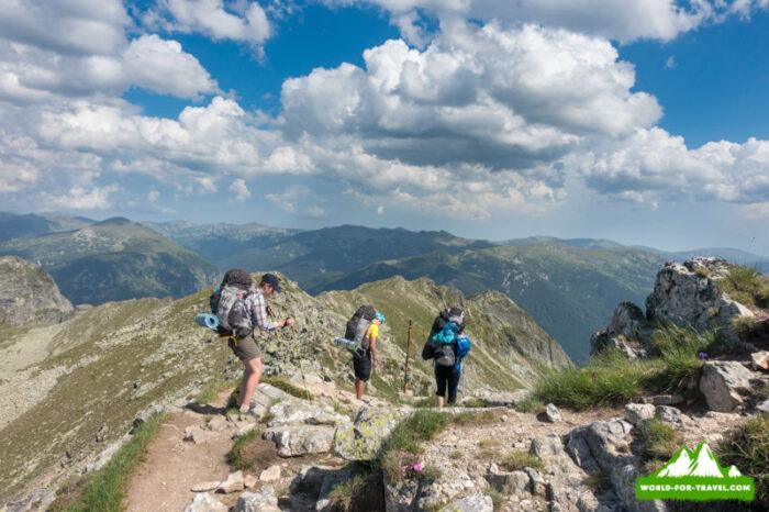 трекинг Болгария - горы Рила и Рыльские озера (Балканы - Bulgaria)