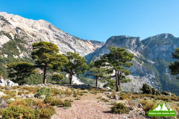 Ликийская тропа (Lycian Way) горы Баба Даг