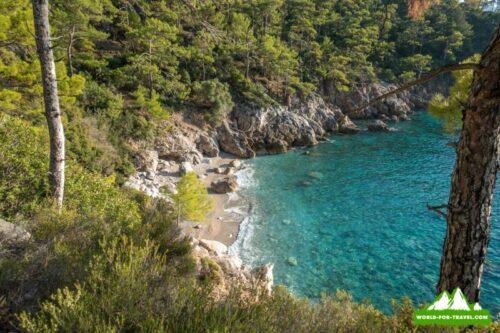 Ликийская тропа (Lycian Way) уютное местечко на тропе