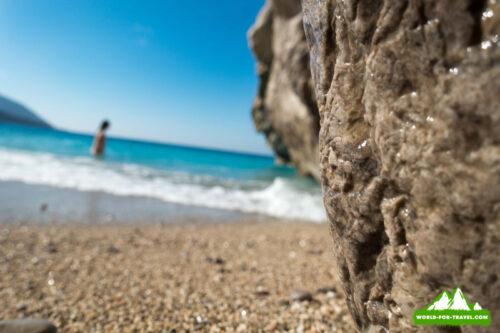 Ликийская тропа (Lycian Way) на пляже парадиз