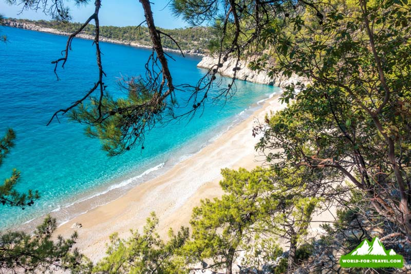 Ликийская тропа (Lycian Way) дикий пляж