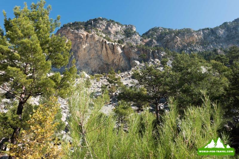 Ликийская тропа (Lycian Way) гора Баба Даг