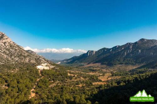 Гора баба даг Турция