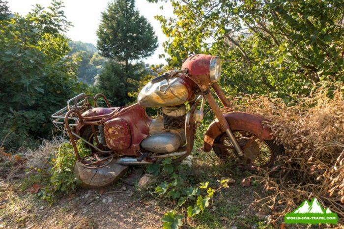 Ликийская тропа (Lycian Way) Раритет мотоцыкла в турции