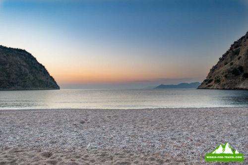 Ликийская тропа (Lycian Way) фаралия, побережья долина бабочек