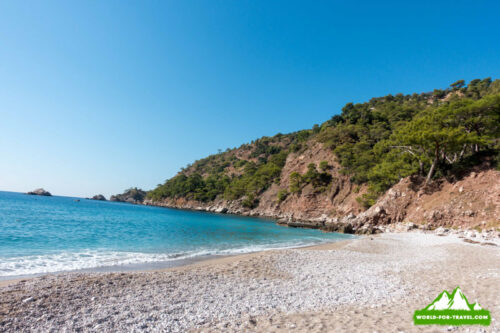 Ликийская тропа (Lycian Way) кабак пляж