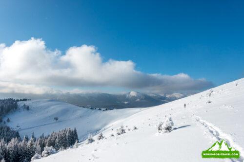 величие гор Поход в горы