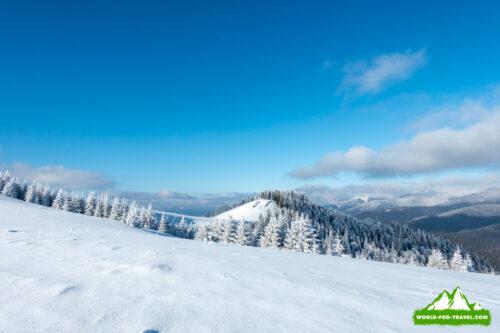 Гора Плоская и Долгая, Буковель