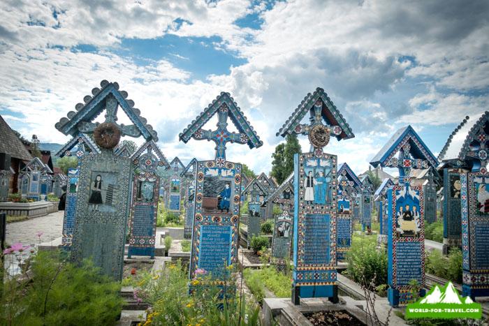 Веселое кладбище, Румыния