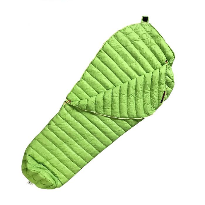 Купить спальник пуховой, спальный мешок Mini