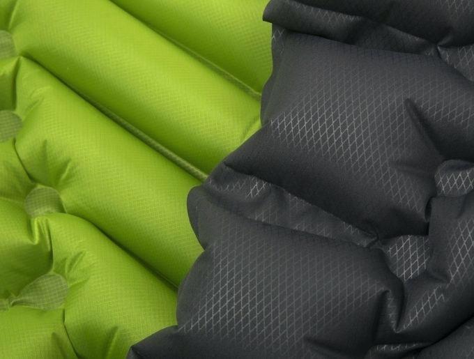 Надувной коврик (каремат) Klymit