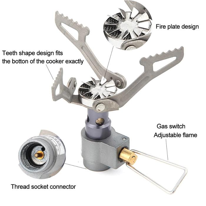 Газовая горелка (примус) BRS-3000T