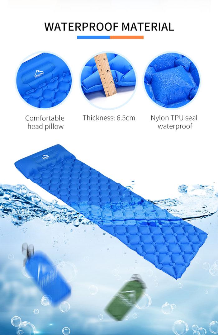 коврик для походов с подушкой - Widesea
