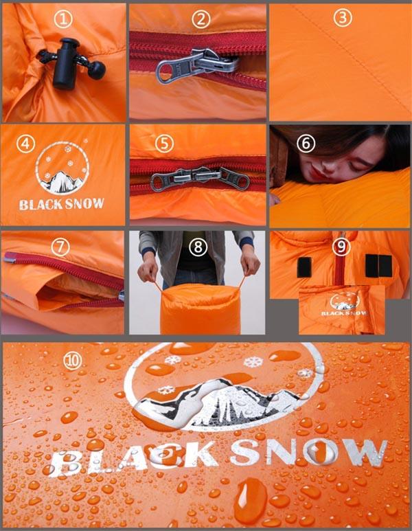 Спальник Black Snow
